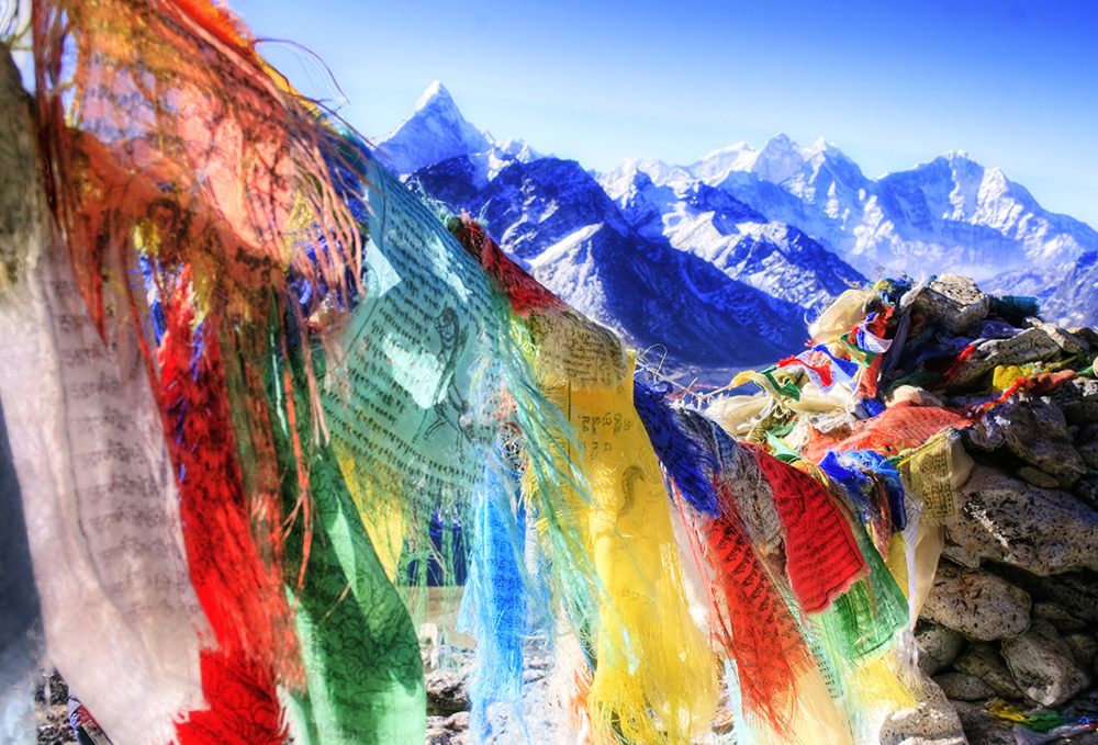Tibetal Prayer Flags